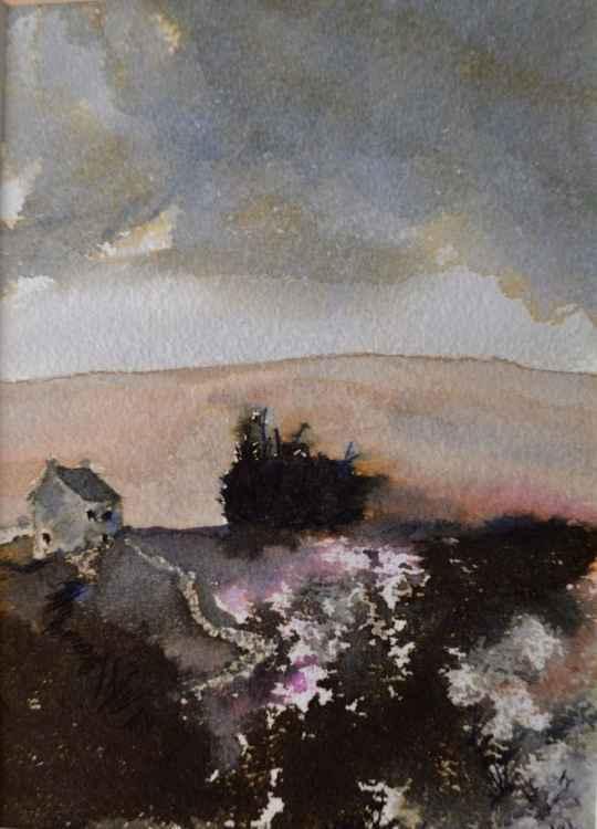Moors Cottage - Original Watercolour Painting