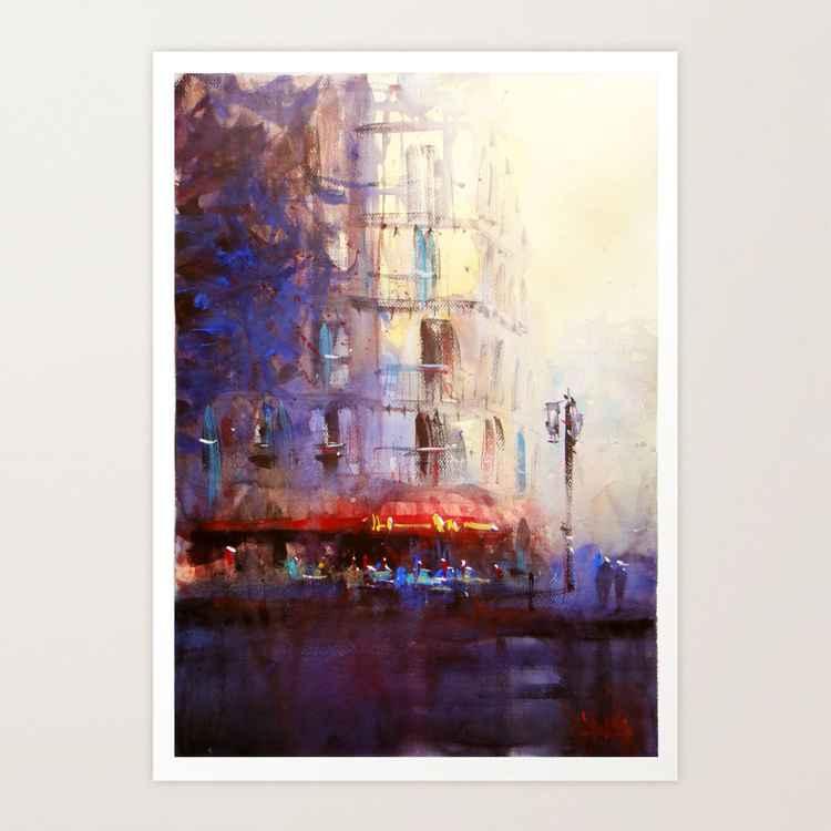 Paris atmospheric #6 -
