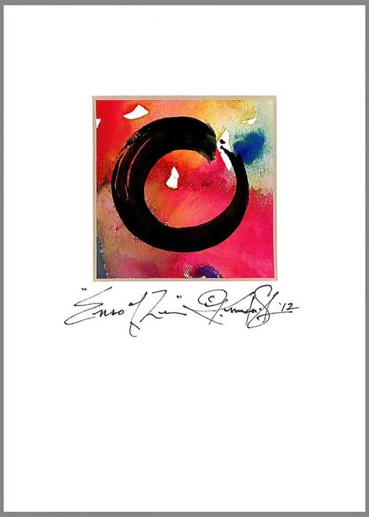 The Enso Of Zen . No. m2 - Image 0