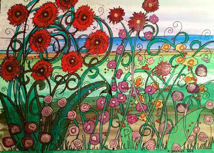 Summer Garden by the Sea