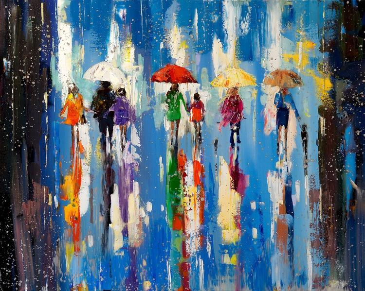 'Rainy Evening in London II' - Image 0