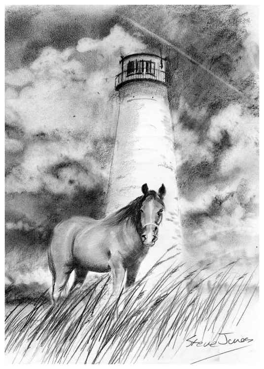 Horse and Lighthouse