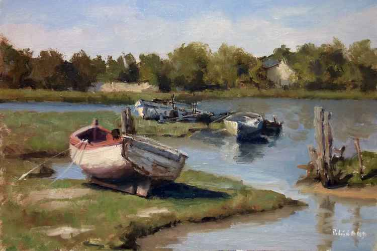 Boats in Finistère -