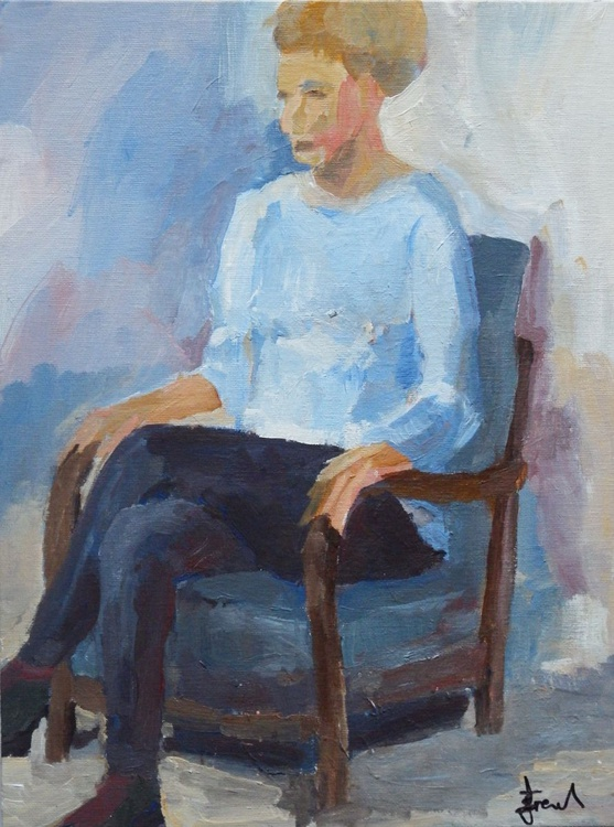 SEATED WOMAN - Image 0