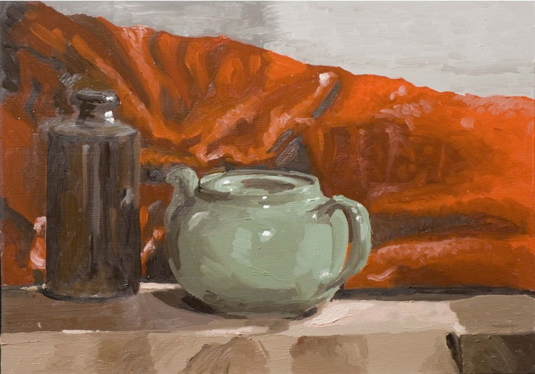 Green Teapot - Image 0