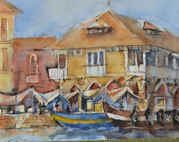 Venice Fish Market -
