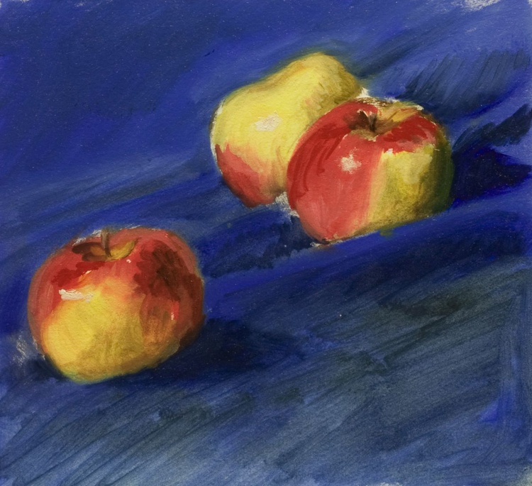 Small Apples amongst the Blue - Image 0