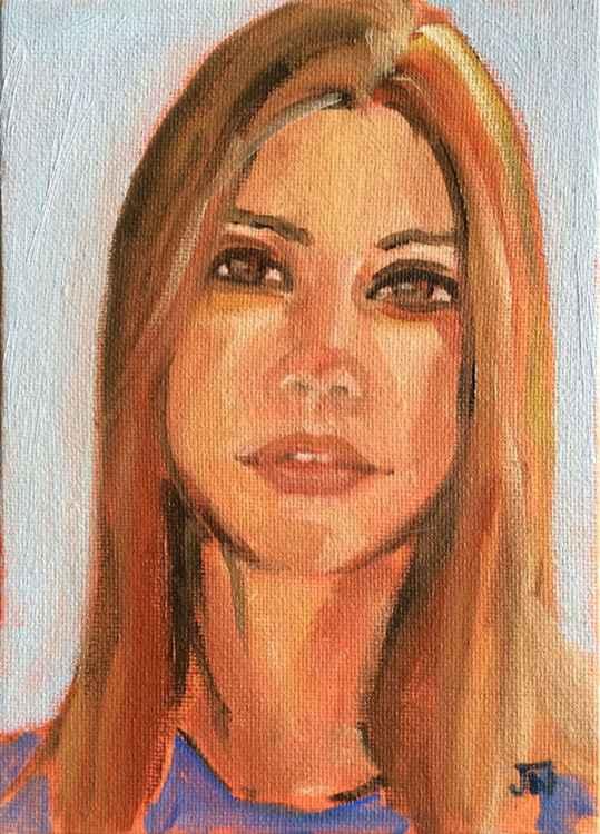 Portrait study 20160401
