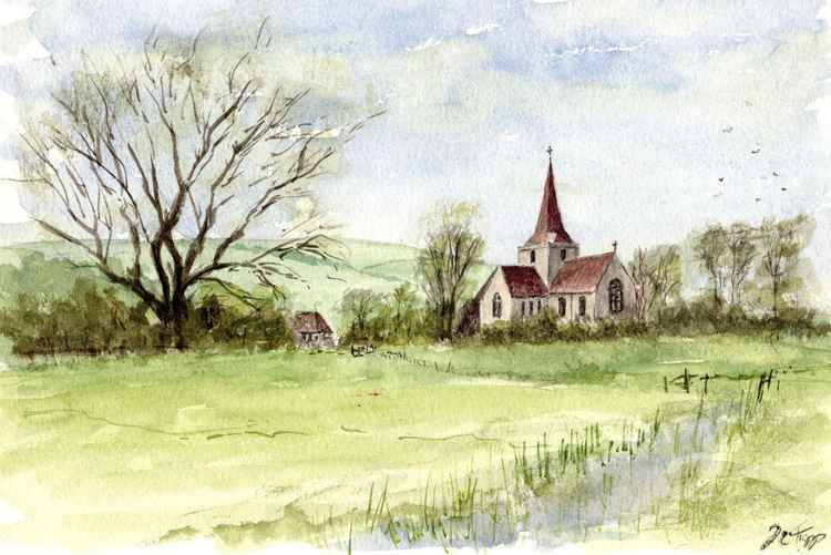Alfriston Church -
