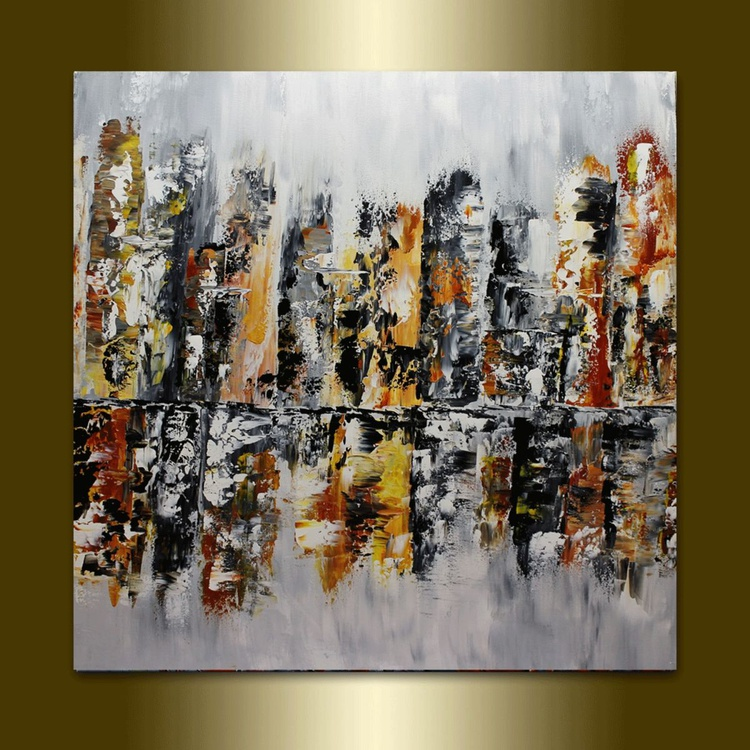 Abstract Cityscape Art. - Image 0