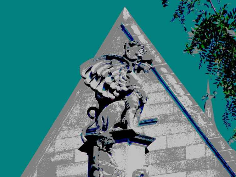 Gargoyle at Cobb Gate, Chicago -