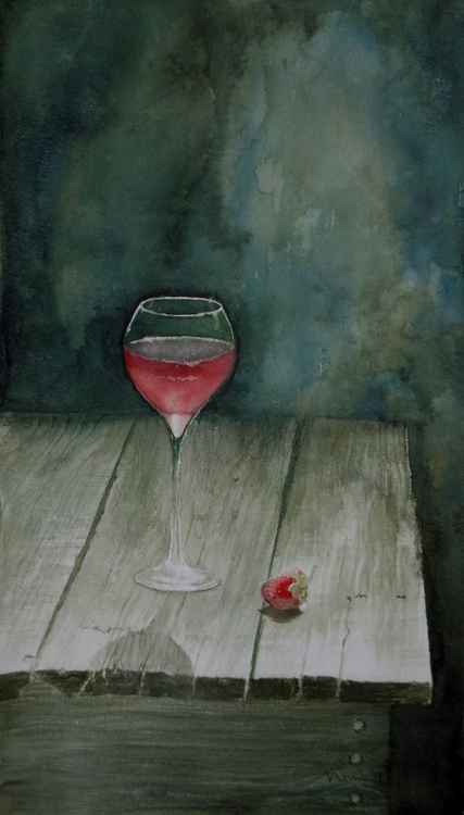 Strawberry wine -