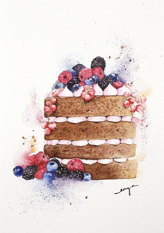 Fruity naked cake - Image 0