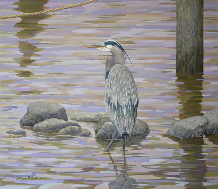 Two Rivers Heron - Image 0