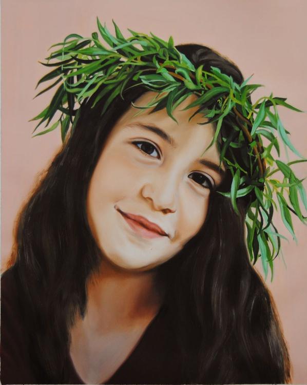 Custom Portrait, Canvas painting, Child Custom portrait, Children painting, Custom Art, - Image 0