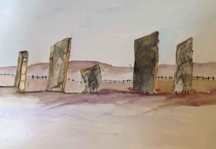 Caranash stones, Orkney isles