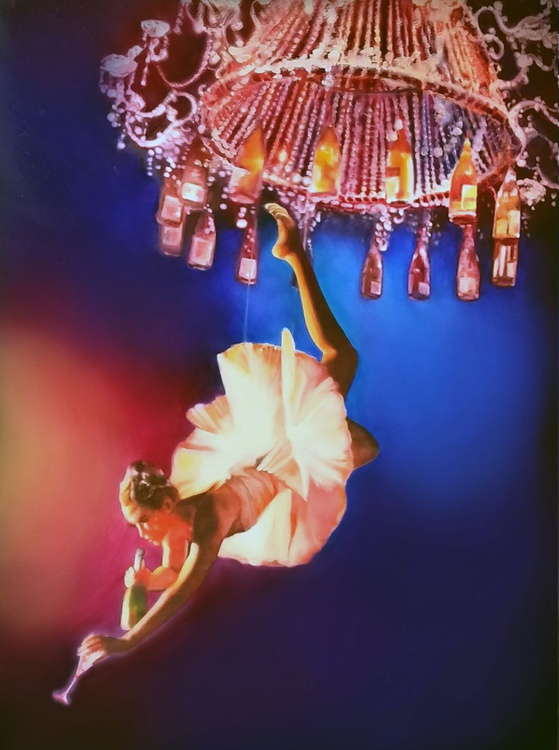 Lady Chandelier - Image 0