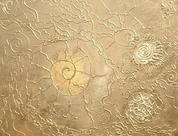 Manipura - Gold Fossils - Image 0