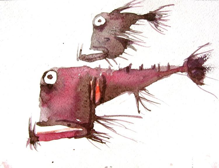 fish (ugly two) - Image 0
