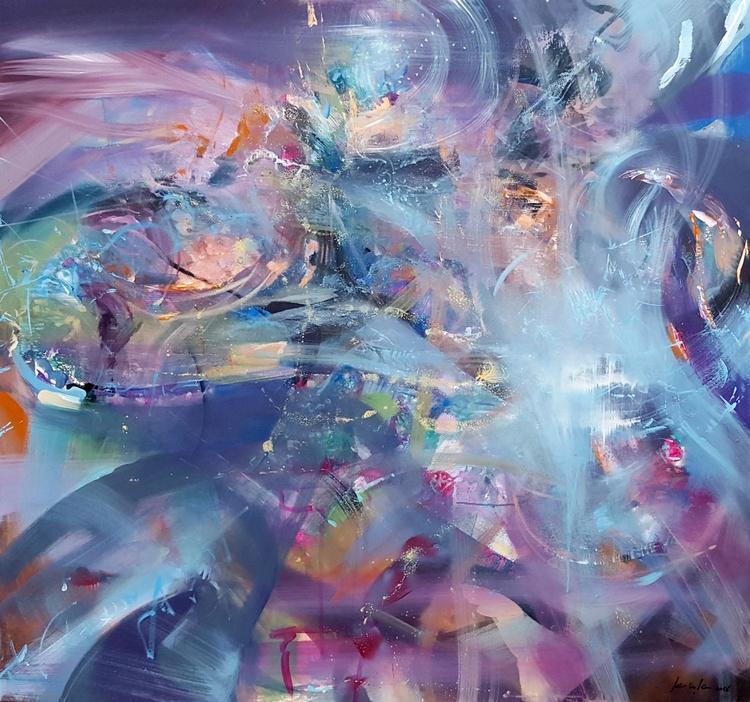 AMAIZING HUGE COLORFULL MINDSCPE MELANCHOLIA BY MASTER KLOSKA ALICE'S WONDERFUL MORNING DREAMS - Image 0
