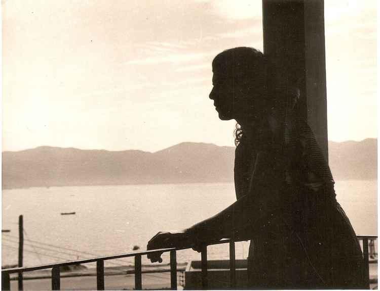 Celia's Acapulco Silhouette, c. 1948 • Samuel Gutierrez, Foto Estudio Paris • Ltd Edit. Silver Rag Print