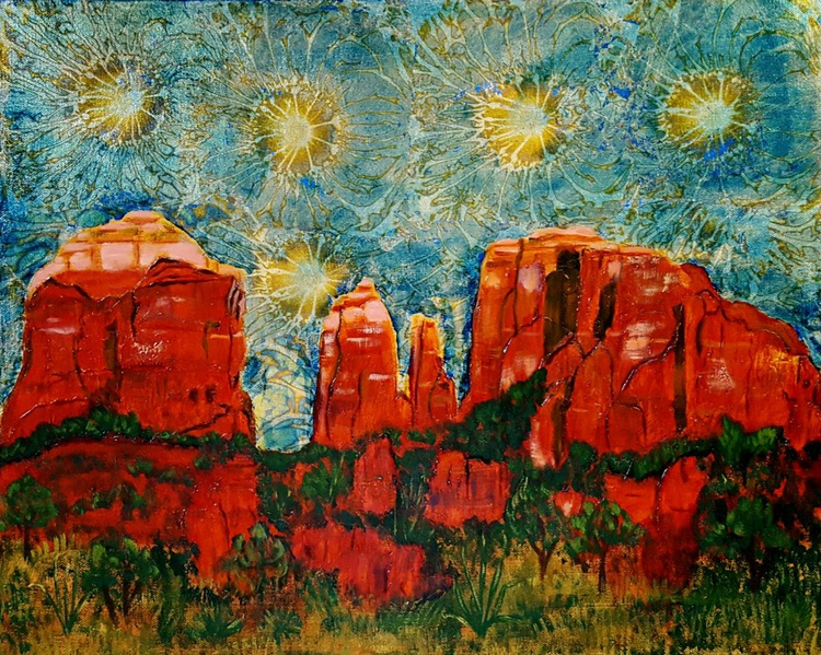 """Cathedral Rock"" - Image 0"