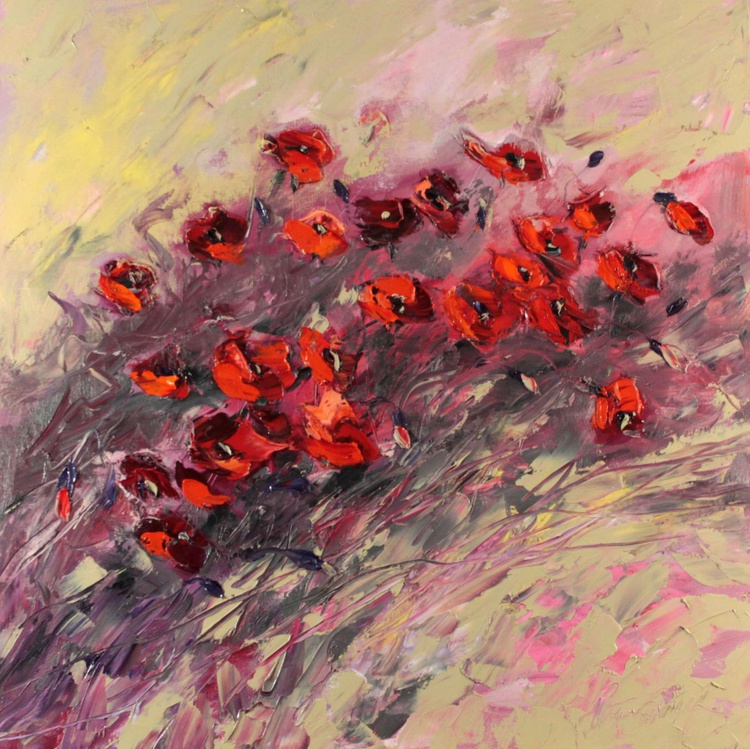 Delicate poppies - Image 0