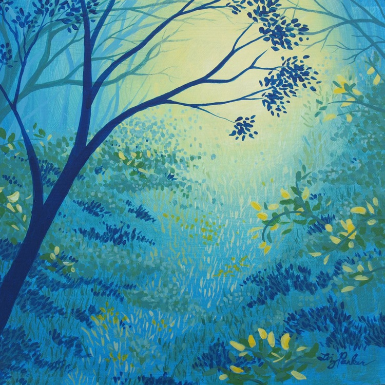 Blue Forest No. 4 - Image 0