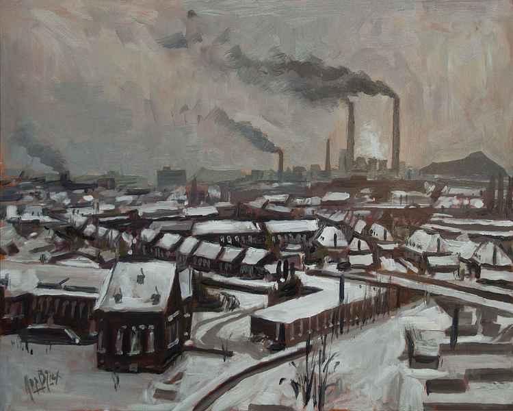Skyline Heerlen 1972 -