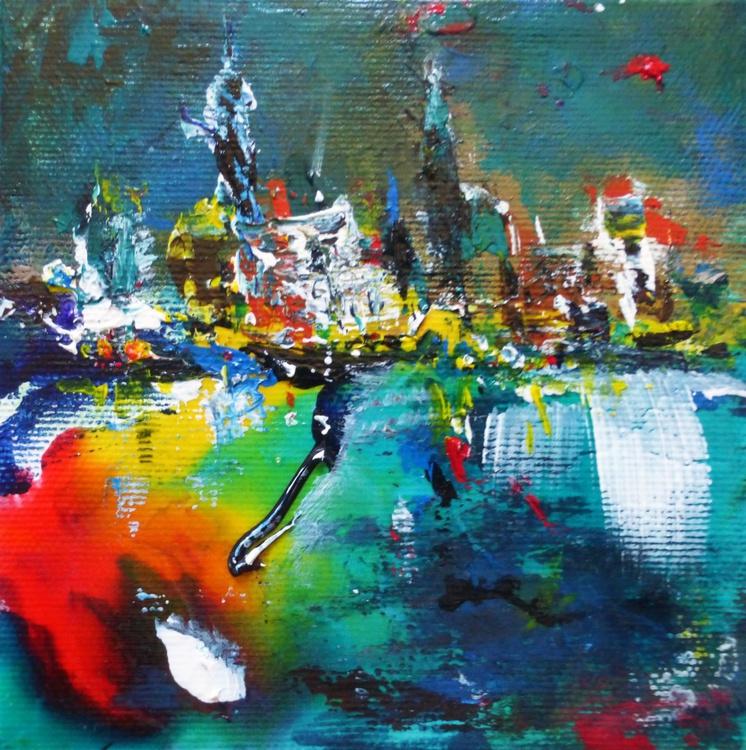 The city. 13x13cm - Image 0
