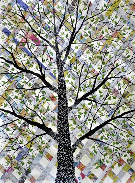 Scripted Tree (Likhit Vriksh) - Image 0