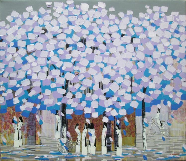 Violet trees 1 - Image 0