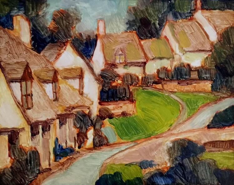 English Village in Spring - Image 0