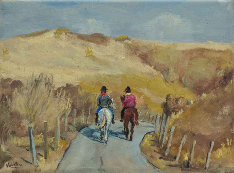 On The Path # 6 - Afternoon ride through Dunes -
