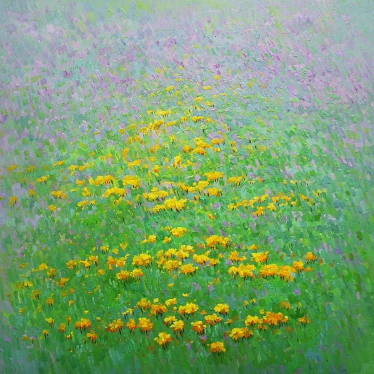 """Abstraction No. 31 """"Meadow"""" . - Image 0"""