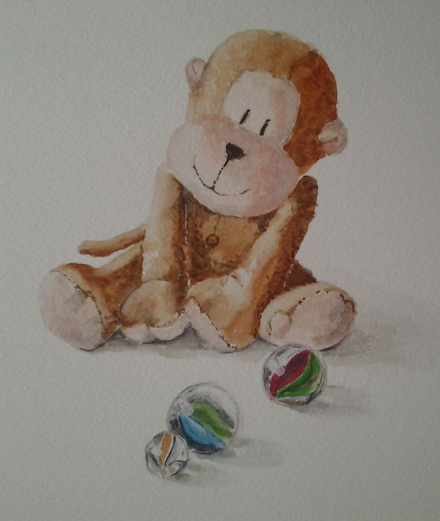 """MONKEY AND MARBLES"" - Image 0"