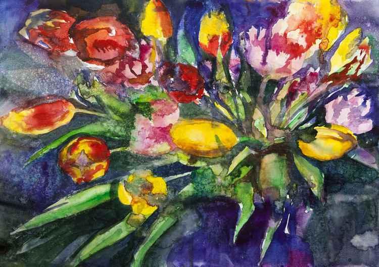 tulips #1 -