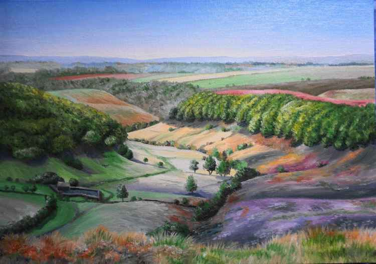 Horcum in Autumn 16x12