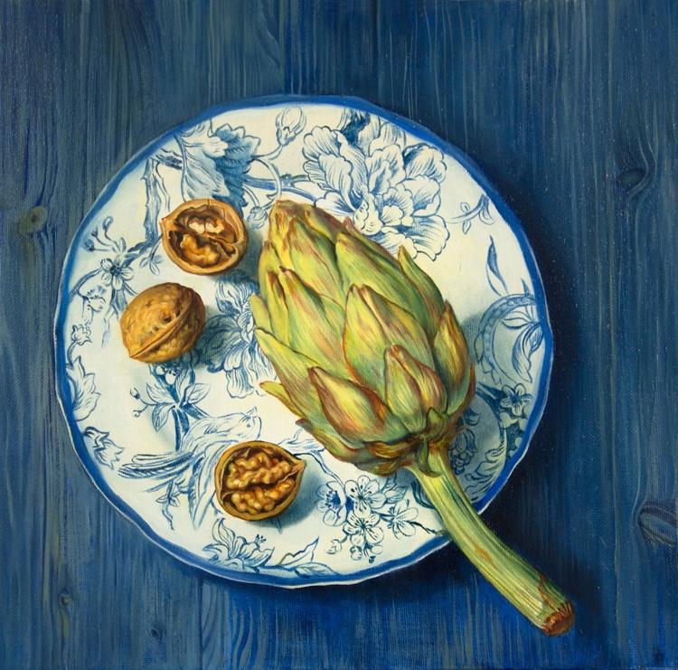 Still life with artichoke - Image 0