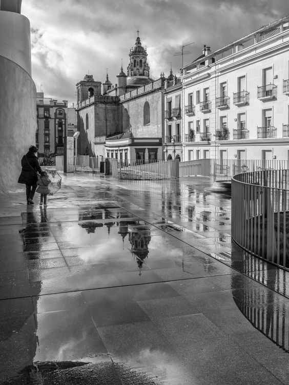 A Rainy Day in Seville