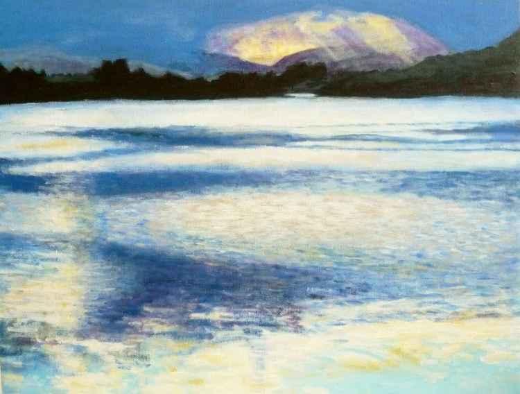 Overcast Sky, Lake of Menteith -