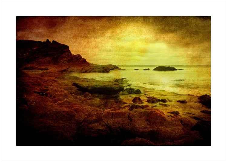 Rocky Sunset -