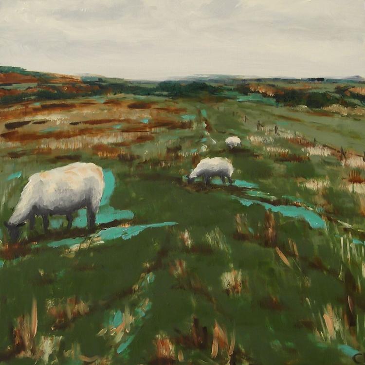 Grazing Sheep 1 - Image 0