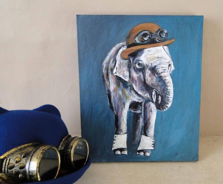 Steampunk Elephant - Image 0