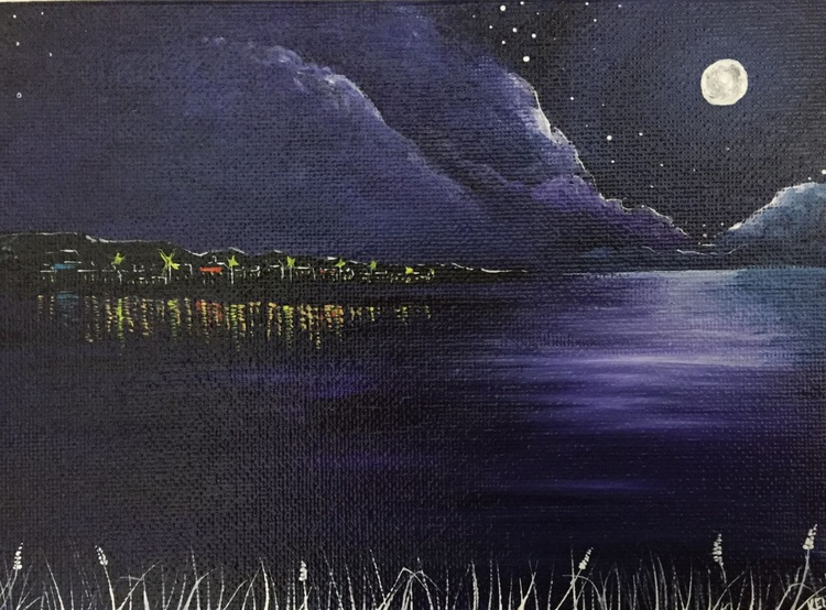 Moonlit water 1 - Image 0