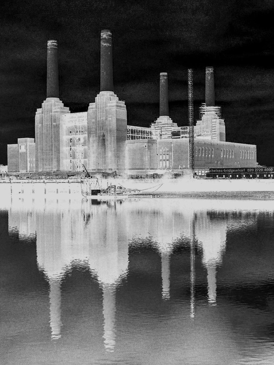 """BATTERSEA THAMES Limited edition  1/50 16""""x12"""" - Image 0"""