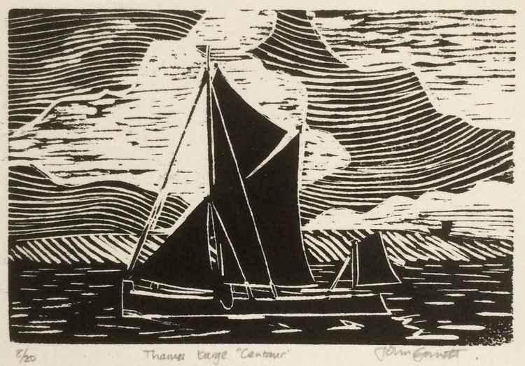 Sailing barge Centaur -