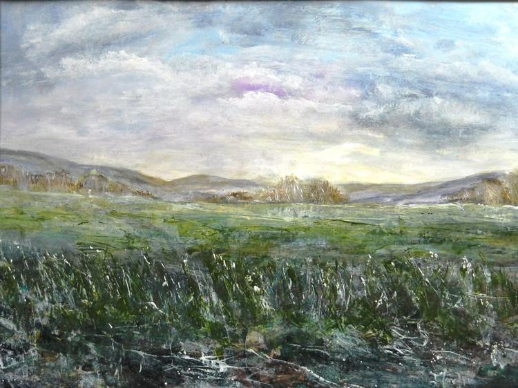 On Dartmoor 2~ English Impressionist painter Devon England - Image 0