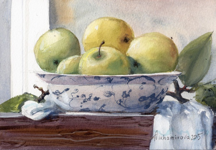 A bowl of Apples - Image 0