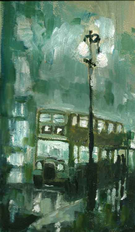 City Rain No.2 -